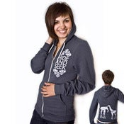 Image of Grow to LOVE Hoodie (Asphault Grey)