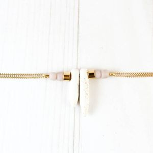 Image of Bracelet White + Pink
