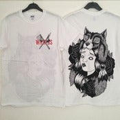 Image of 'Native Girl' White Tshirt