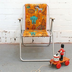 Image of Vintage Child's Deckchair - SOLD