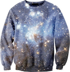 Image of Galaxy Overprint Sweatshirt