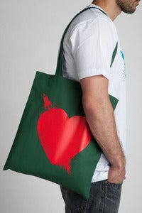 Image of Breaking Hearts Hunter Tote Bag