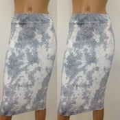 Image of Grey Sky Skirt