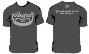 Image of GREY BEARD LIFE LOGO *TWO SIDED*