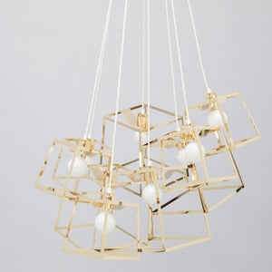 Image of 9 Piece Frame Cluster, Brass or Copper