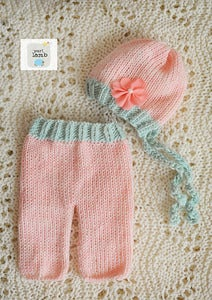 Image of RTS Pink Hat and Pants Set