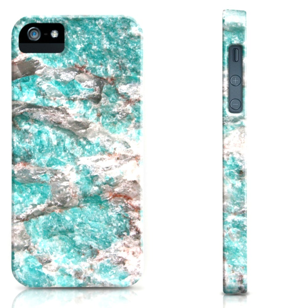 Image of Amazonite Stone Cell Phone Case