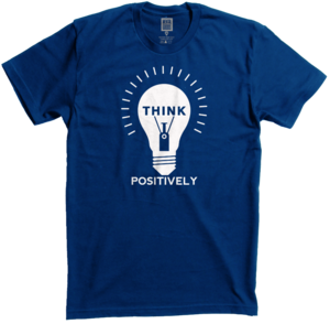 Image of THINK POSITIVELY
