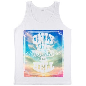 Image of Saints Sky - Tanktop Weiß - Mann