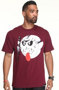 Image of Friday The 13th Tee-Burgundy