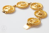 Image of Celine Bracelet GLD :: Vintage Accessories