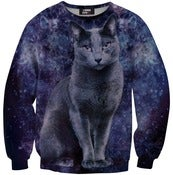 Image of Black cat sweater