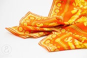 Image of Gianni Versace silk foulard scarf Barocco :: vintage accessories