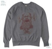 Image of Laughter Grey Sweatshirt (Organic)