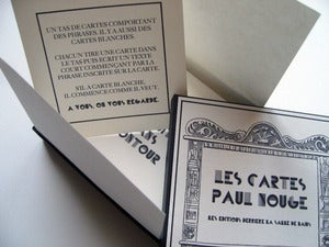 Image of Coffret • Les cartes de Paul Nougé