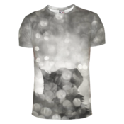 Image of Bokeh cat t-shirt