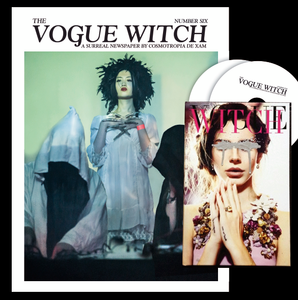 Image of PRE-ORDER: VOGUE WITCH NEWSPAPER #6 w/ HANDMADE ULTRA RARE TRAX III VOGUE WITCH BOX