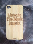 "Image of ""Listen"" Wooden iPhone 4/4s Case"