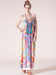 Image of Piece Print Tube Dress