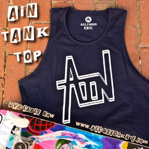 Image of AIN tech tank top