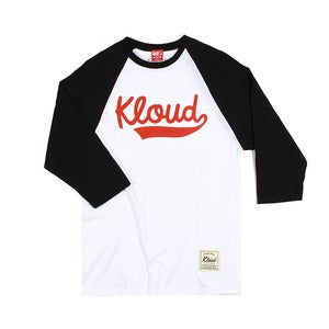Kloud Baseball Raglan Black