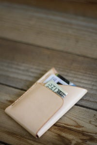 Image of Double-Cross Wallet (Natural)