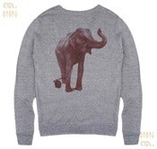 Image of Elephant Athletic Grey Cardigan (Unisex)