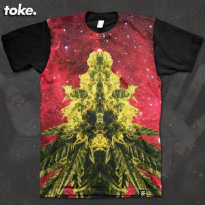 Image of Toke - Space Weed THE RETURN - Tee