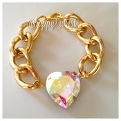 Image of Stole my heart Necklace and bracelet