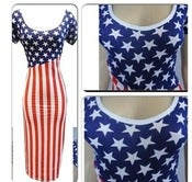 Image of Patriot BodyCon Dress