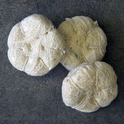 Image of double sisal mitt