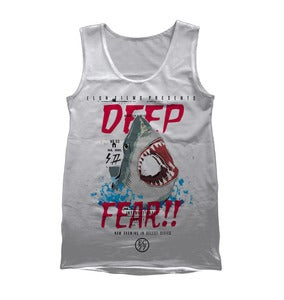 Image of The Deep Fear Tank - White - Summer '13!