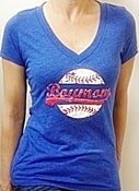 Image of S101 V-Neck Royal Baseball