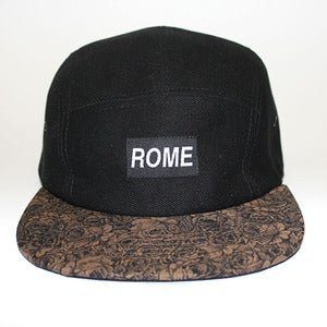 Image of ROME Floral Series Gold Brim