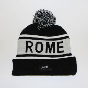 Image of ROME Black and white Beanie