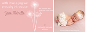 Image of Peahead Prints: Simply Stated Timeline Cover Template 2