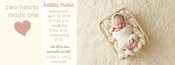 Image of Peahead Prints: Simply Stated Timeline Cover Template 4
