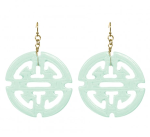 Image of Jillian Earrings in Mint