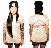 Image of Limited Edition Unisex Landlocked Crew Tee