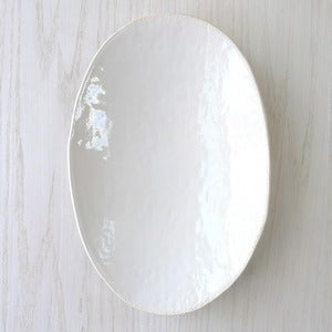 Image of white oval serving bowl #6