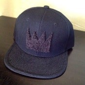 "Image of The Ron Bass ""KINGING"" SnapCap (Blackout)"