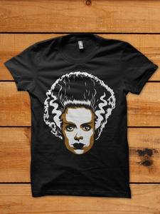 Image of Bride of Frankenstein - Shirt - PreOrder