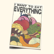 Image of I Want to Eat Everything 1