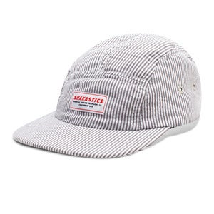 Image of Seersucker 5 Panel Hat