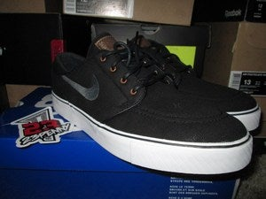 "Image of SB Zoom Stefan Janoski ""Black/British Tan"""