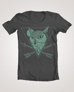Image of Owl logo tee pre order SOLD OUT