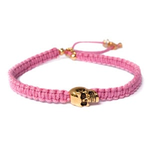 Image of NEW Club Tropicana pink 'Dead Romantics' bracelet
