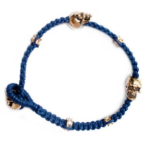 Image of 'Don't lose your head' bracelet, Nautical but nice navy