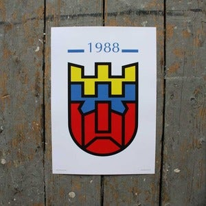Image of Dublin '88 Transformed - Poster