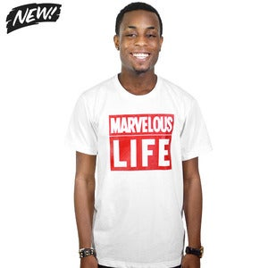 Image of Marvelous Life White Tee